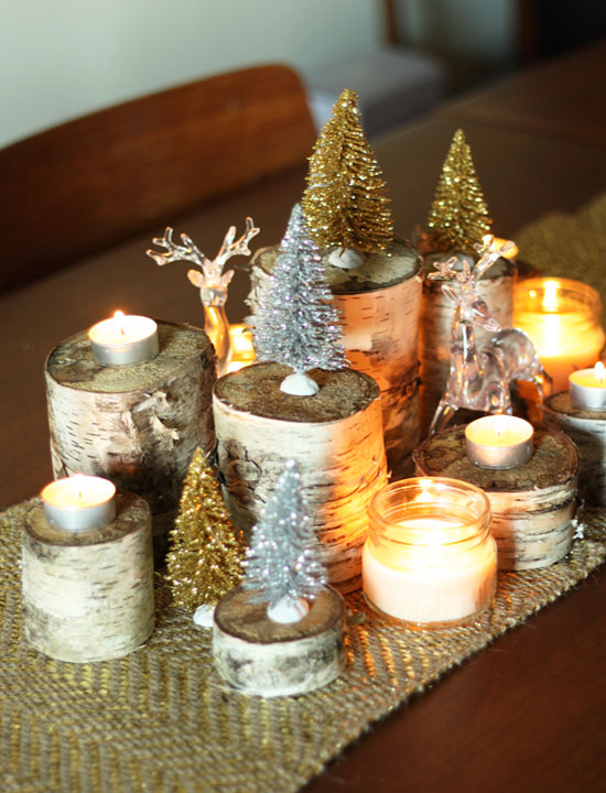 Diy Christmas Tree Table Decoration : Most beautiful christmas table decorations ideas all