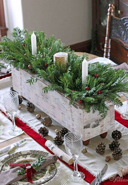 christmas table decorations 29