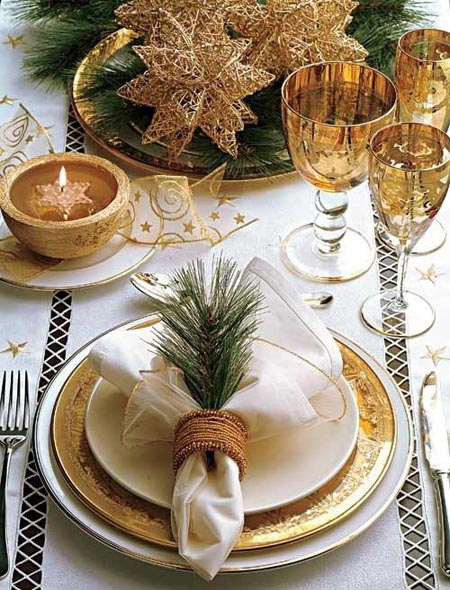 christmas table decorations 9