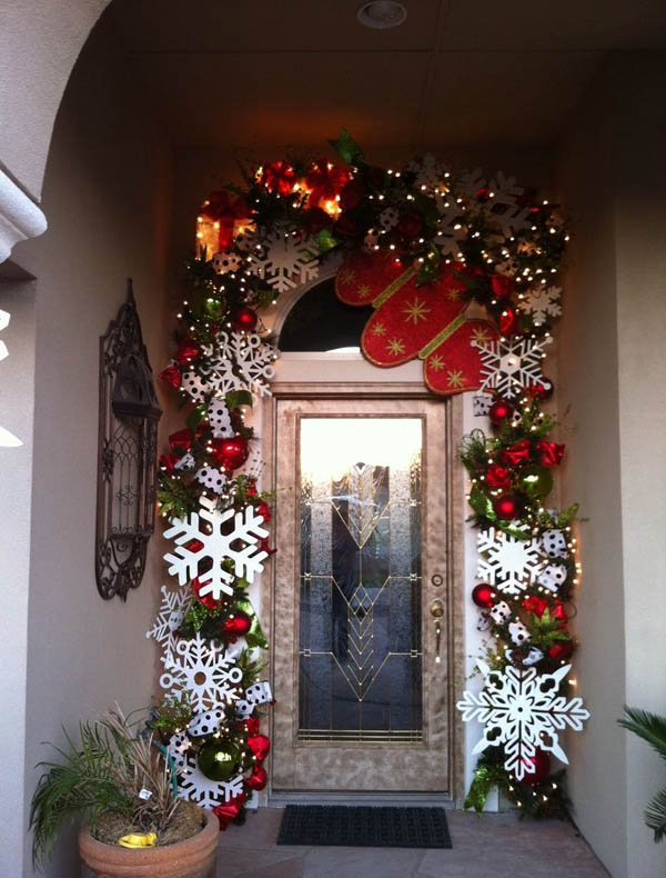 Best outdoor christmas decorations ideas all about christmas for Alcove ideas decoration