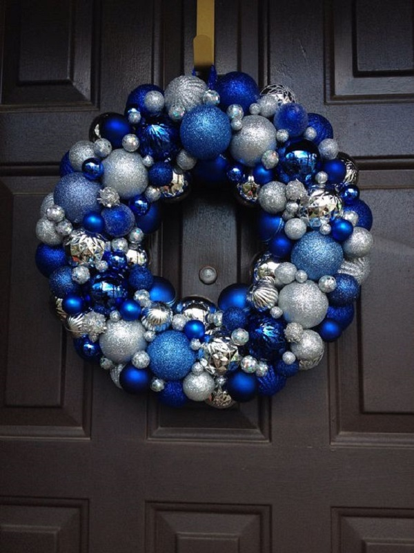 1 - Blue Christmas Decorations Ideas