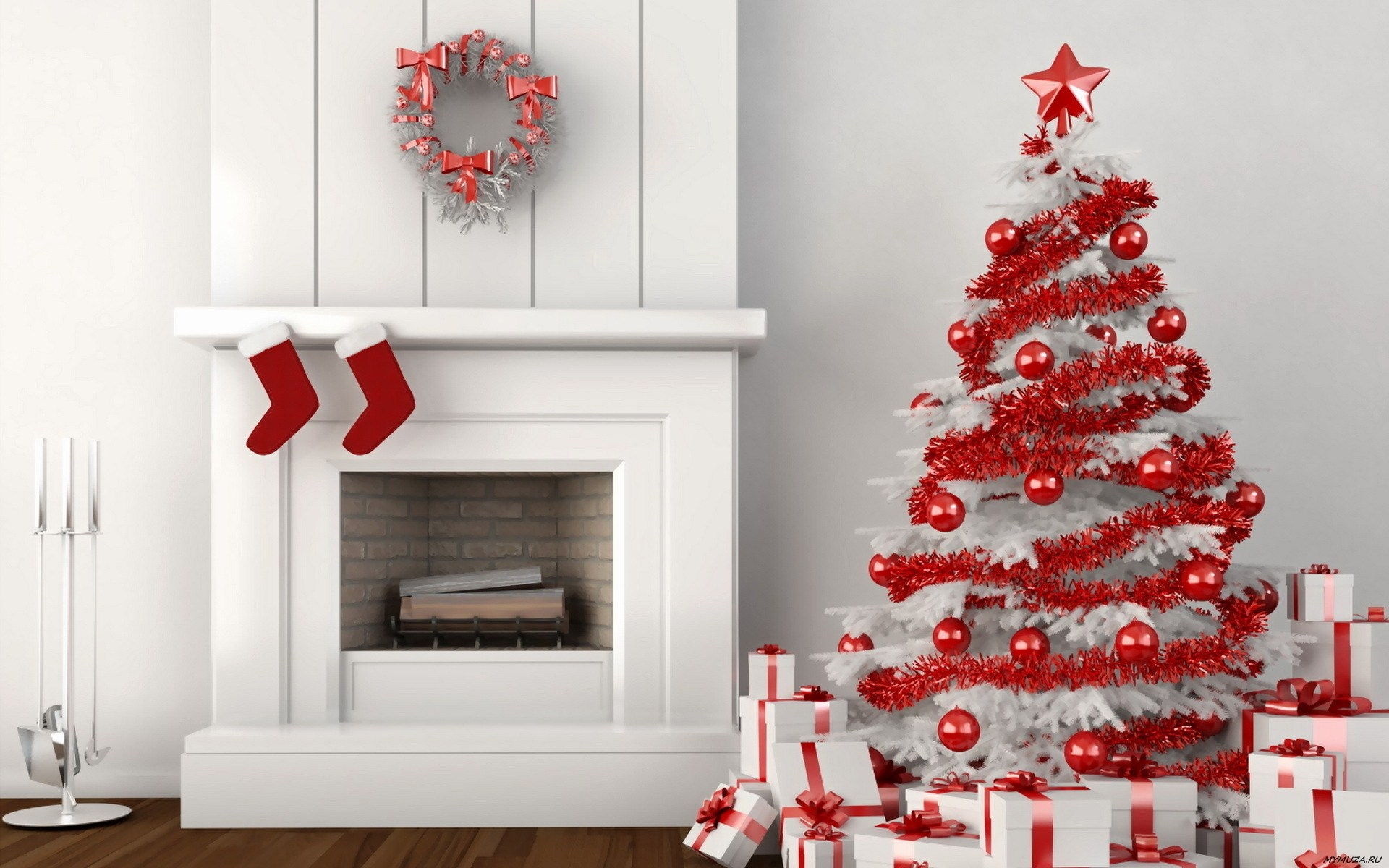40 RED CHRISTMAS DECORATING IDEAS - All About Christmas