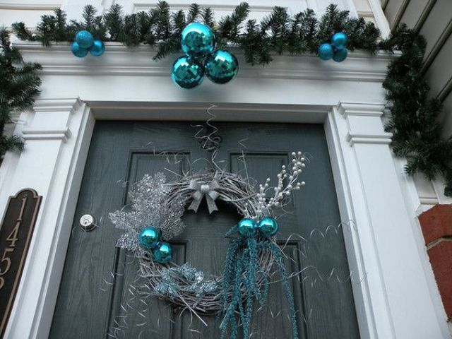 19 - Blue Christmas Decorations Ideas