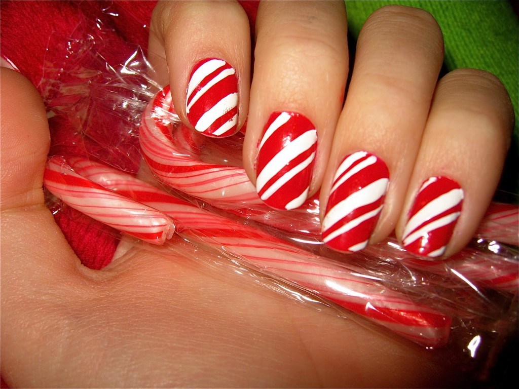 40 easy christmas nail art designs all about christmas 2 prinsesfo Images