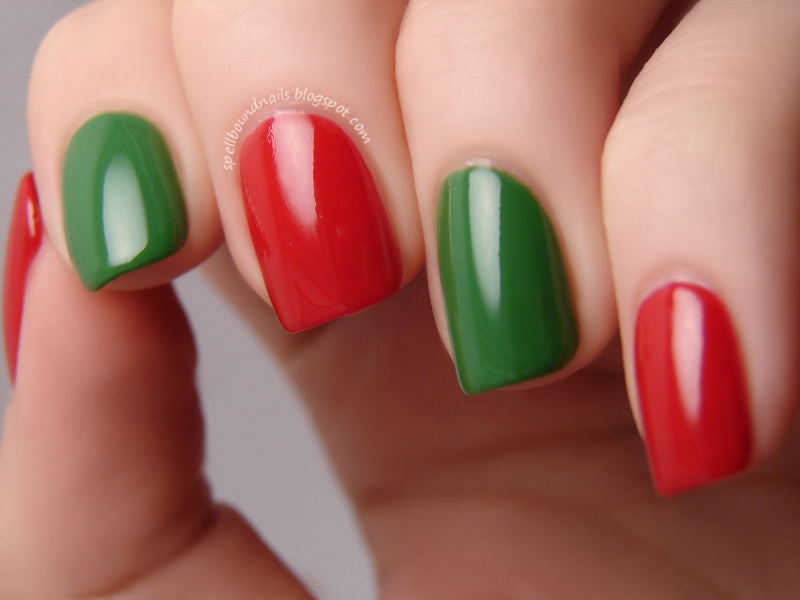 Easy Christmas Nails To Do At Home Best Nails 2018
