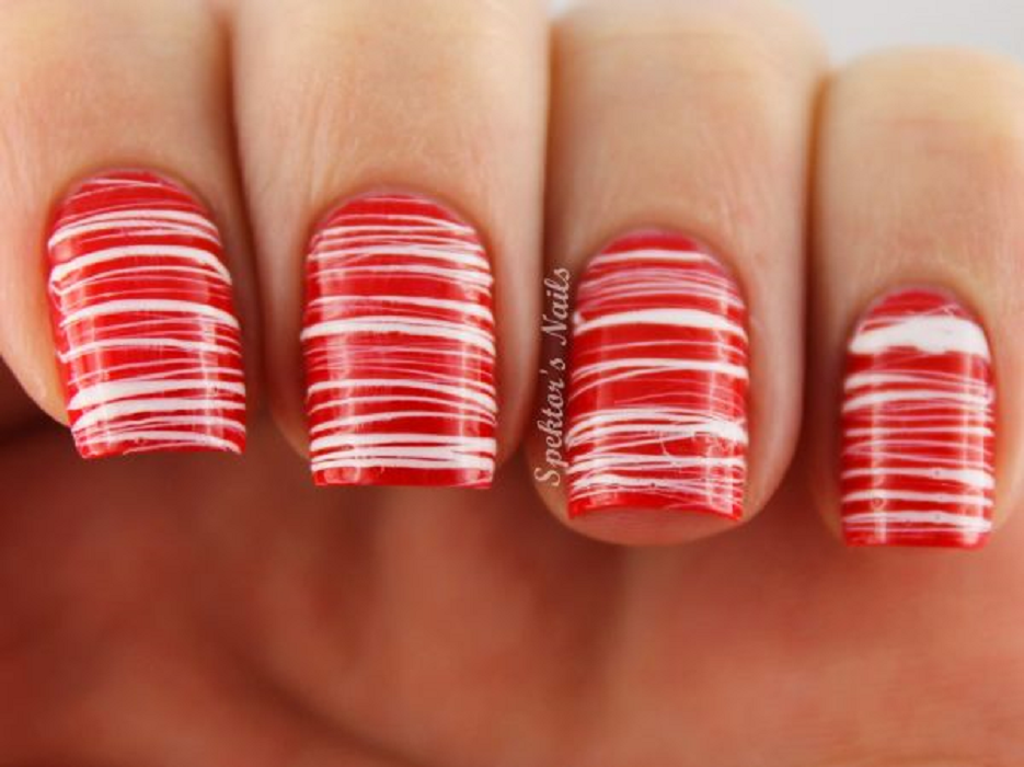 40 Easy Christmas Nail Art Designs - All About Christmas