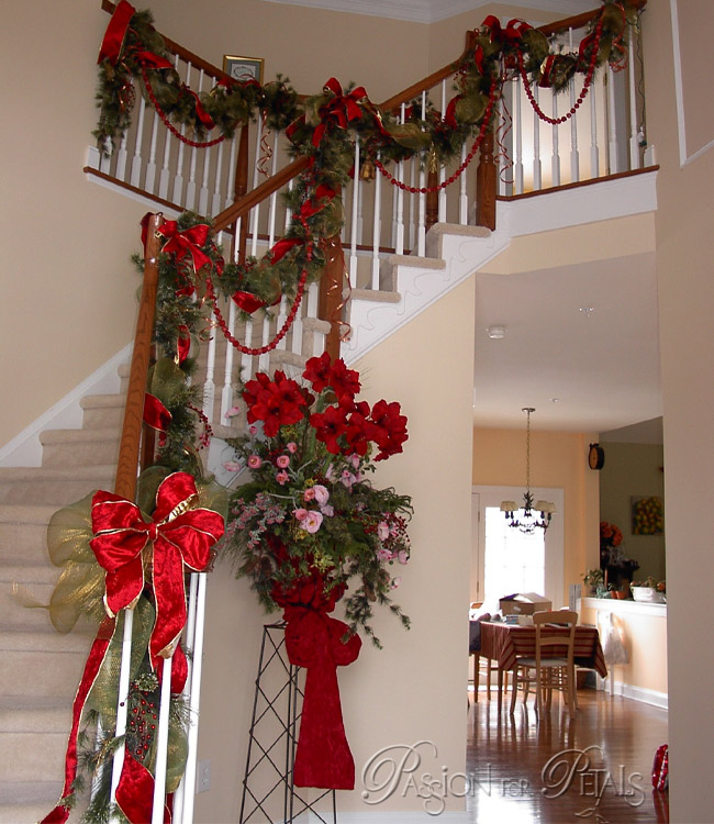 Red christmas decorating ideas all about