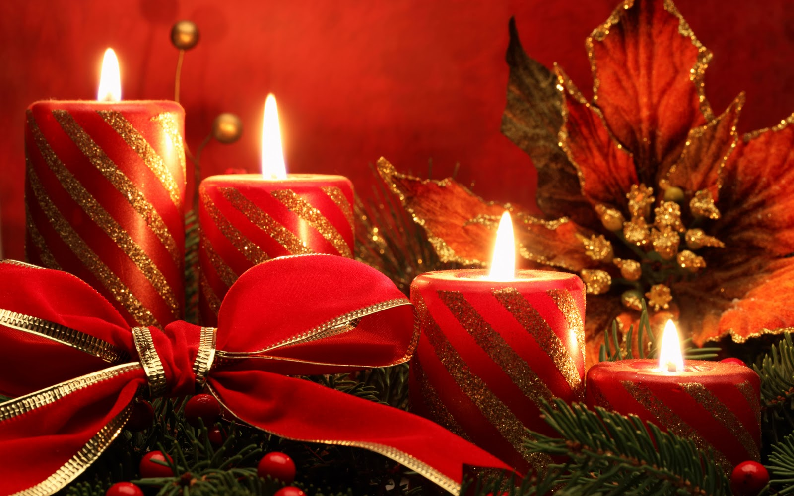 Christmas candles wonderful christmas candle decoration ideas - 6