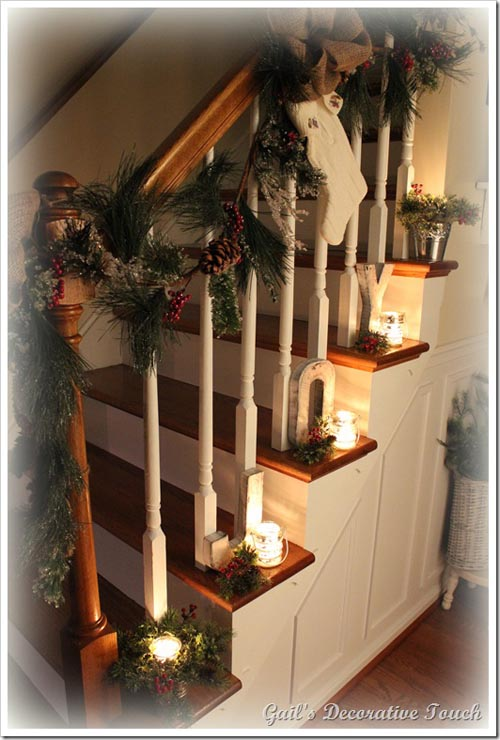 Wooden Garland Christmas
