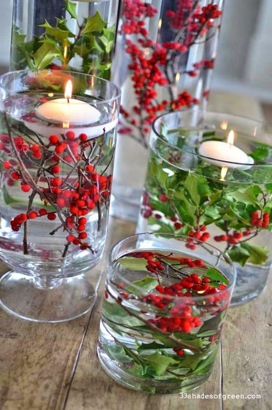 christmas centerpiece ideas 40 - Christmas Centerpiece Decorations