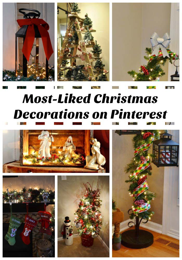 40 Christmas Decorations Spreading On Pinterest – All ...