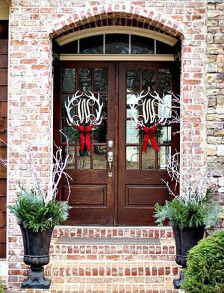 Wonderful Christmas Front Door Decorations Ideas All About Christmas