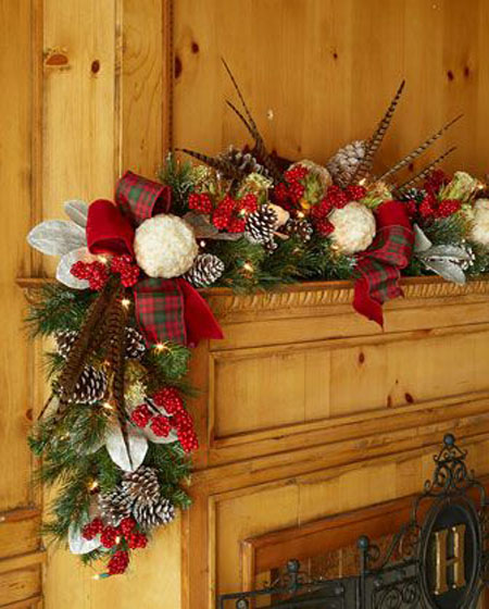 Christmas Garland Ideas 33 All About Christmas