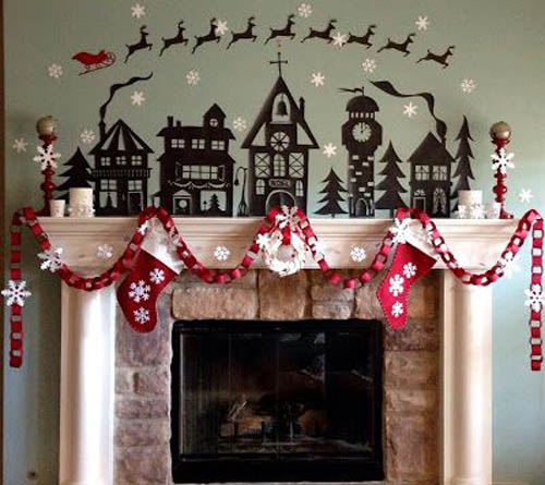 Christmas Garland Ideas 37 All About Christmas