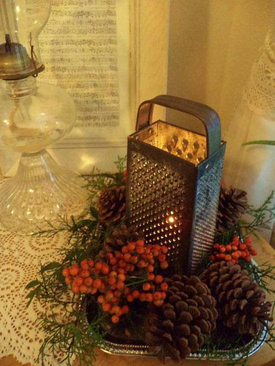 christmas-kitchen-decorations-30 : primitive christmas decor ideas - www.pureclipart.com