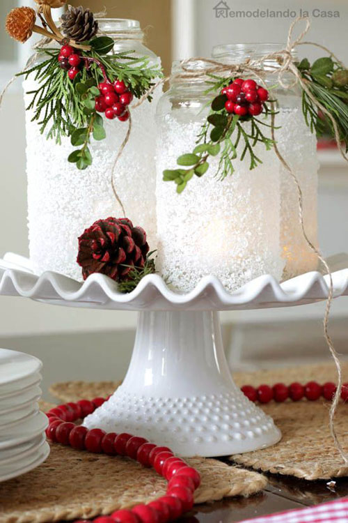 Stunning christmas lantern decorations ideas all about for All christmas decorations