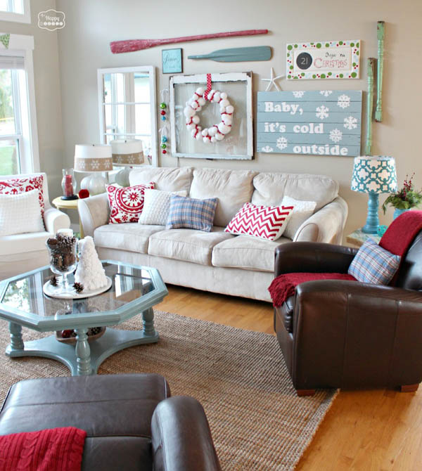 Most breathtaking christmas living room decorating ideas and inspirations all about christmas - Awesome christmas living room decorating ideas ...