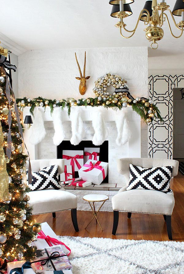 breathtaking christmas living room decorating ideas and inspirations