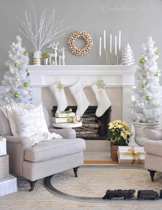 christmas living room decorating ideas 5