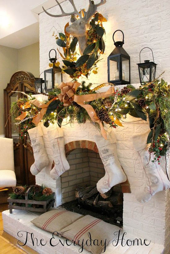 christmas-mantel-decorations-2