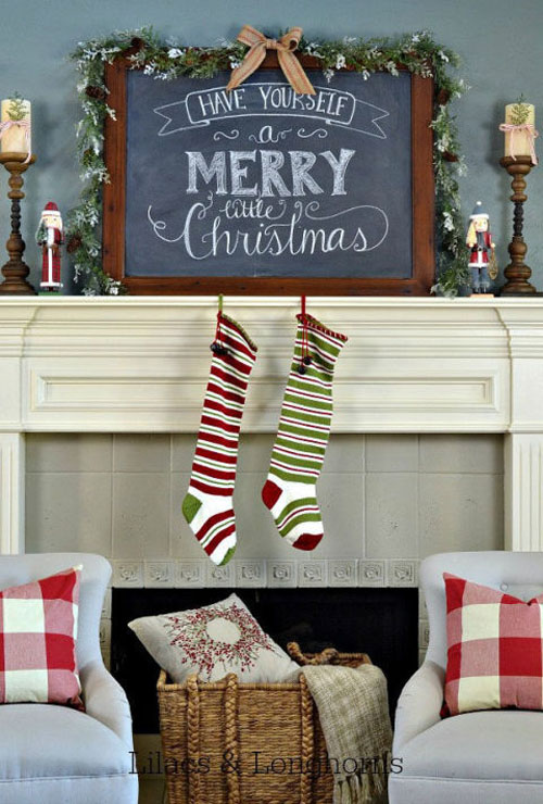 christmas mantel decorations 30