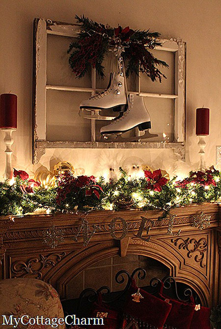 christmas-mantel-decorations-35