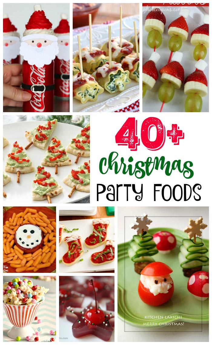 40 easy christmas party food ideas and recipes all about christmas christmas party food ideas forumfinder Image collections