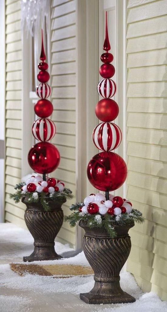 Cool Christmas Porch Decorating Ideas All About Christmas - Christmas porch decorating ideas