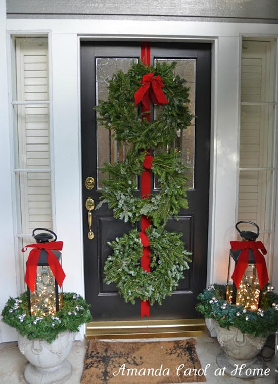 christmas-porch-decorating-ideas-23 & 35 Cool Christmas Porch Decorating Ideas u2013 All About Christmas