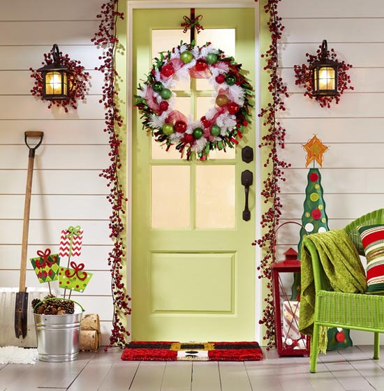 christmas porch decorating ideas 25