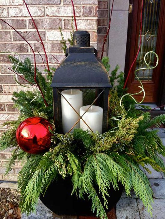 christmas porch decorating ideas 33 - Christmas Porch Decor