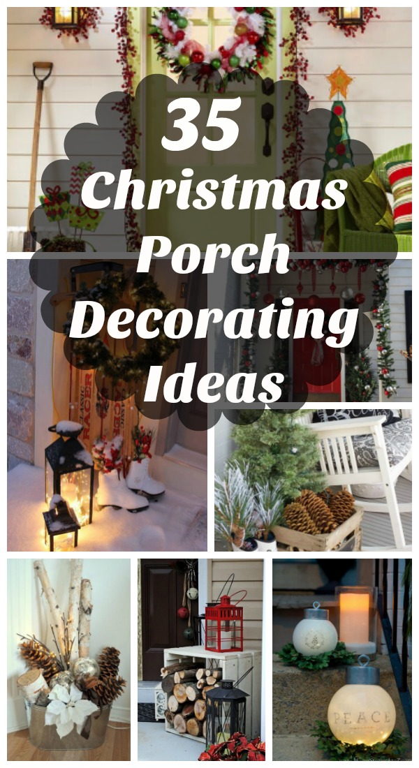 christmas porch decorating ideas - Christmas Porch Decor