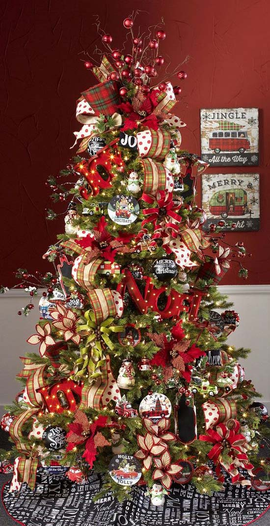 raz imports 2015 jingle all the way tree - Christmas Tree Decorating Ideas 2015