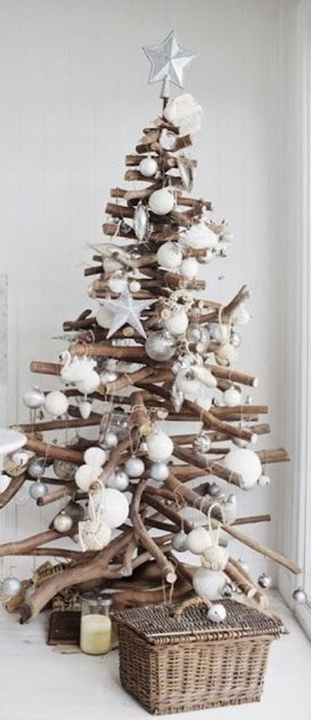 christmas-tree-decorating-ideas-14 & 50+ Beautiful and Stunning Christmas Tree Decorating Ideas - All ...