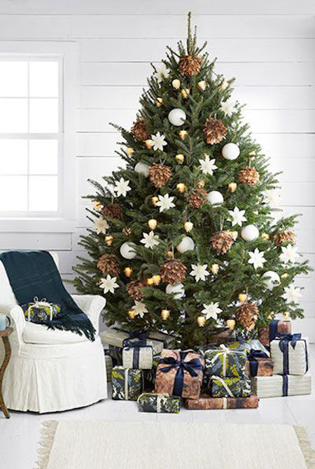 Christmas Tree Decorating Ideas.50 Beautiful And Stunning Christmas Tree Decorating Ideas