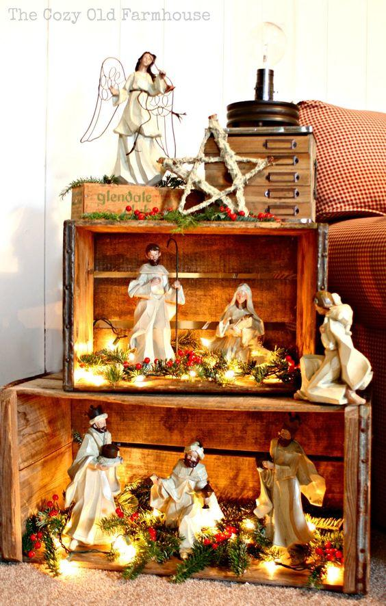 christmas-village-shelf