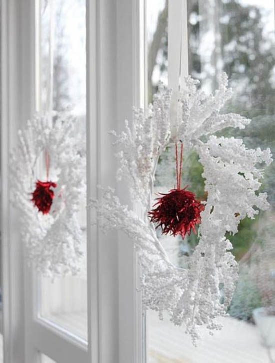 christmas-window-decoration-ideas-15 & 40+ Stunning Christmas Window Decorations Ideas - All About Christmas