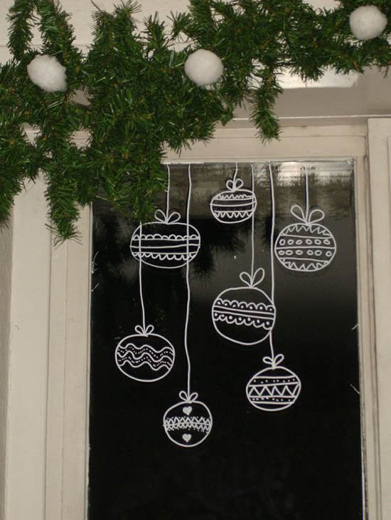 christmas window decoration ideas 17