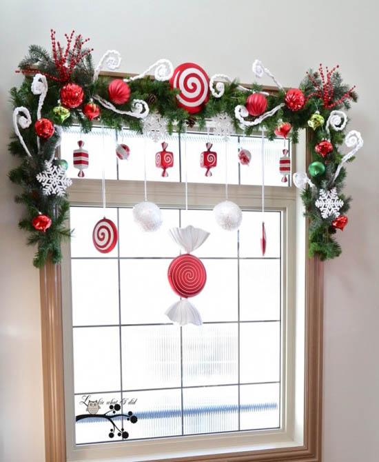 christmas window decoration ideas 2 - Christmas Window Decorations