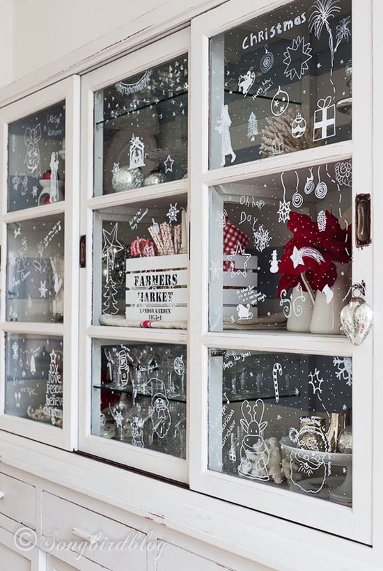 Christmas Decorations Ideas On Windows