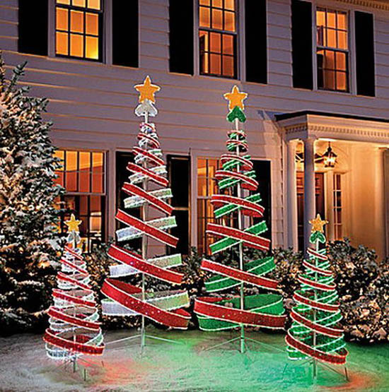 30+ Breathtaking Christmas Yard Decorating Ideas and ...