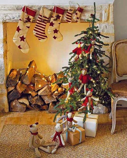 country christmas decorating ideas 1 - Country Christmas Decorating Ideas