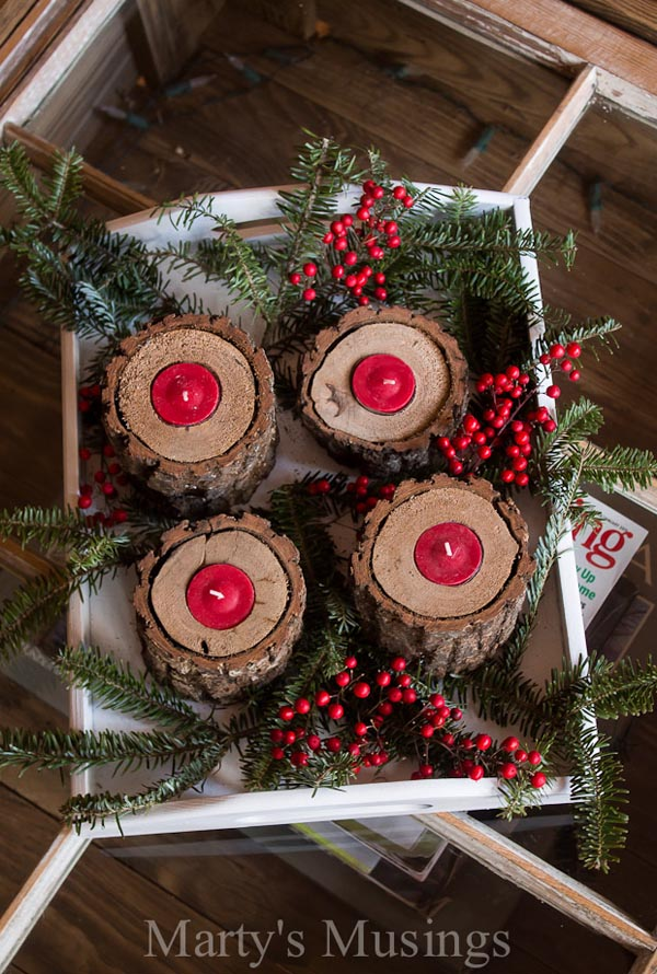 country christmas decorating ideas 11 - Simple Country Christmas Decorating Ideas