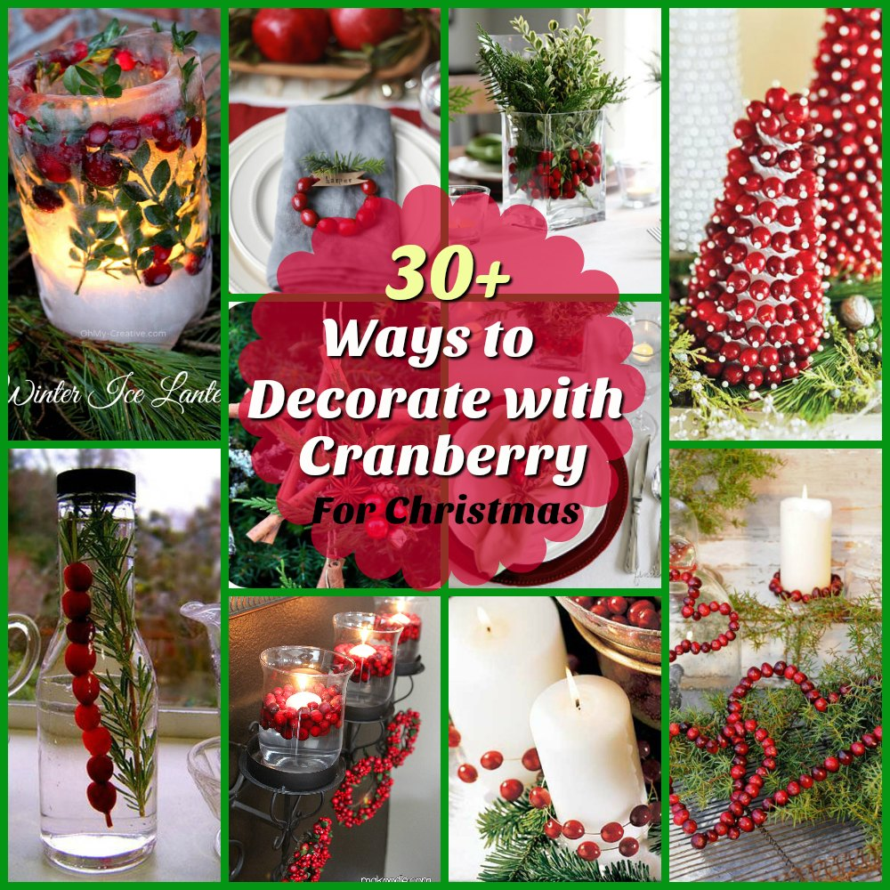 cranberry-christmas-decorating-ideas