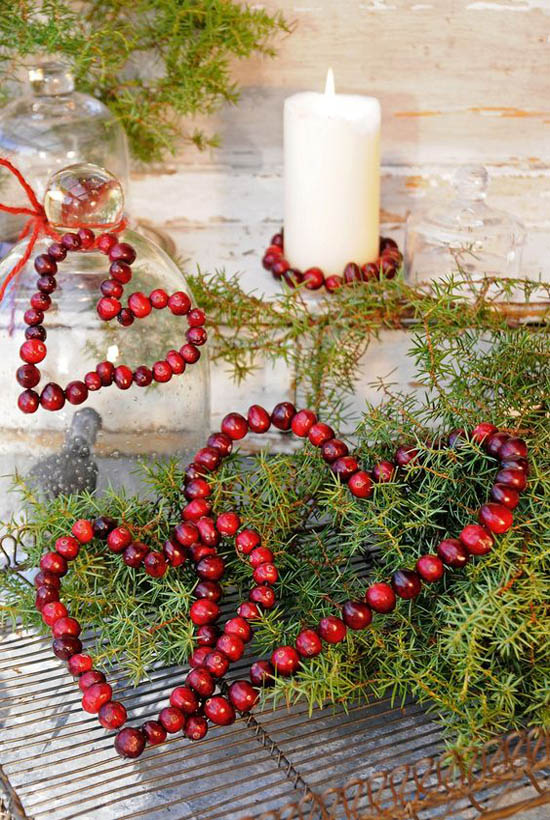 cranberry-christmas-decorations-20 - All About Christmas