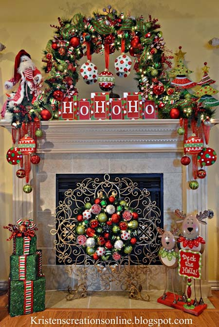 Indoor Christmas Decorations Ideas 25