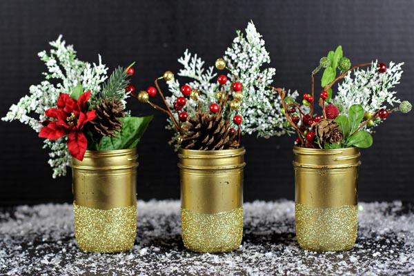 mason jar christmas decorations 13