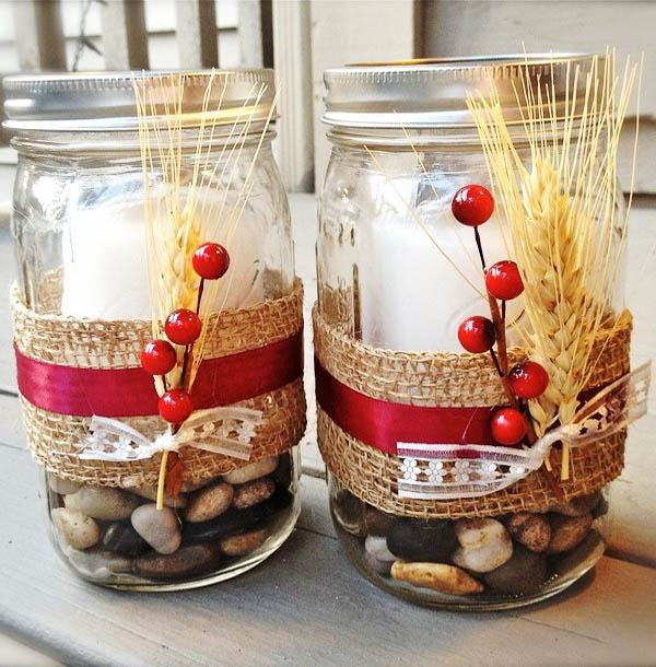 Mason Jar Christmas Decorations 27 All About Christmas