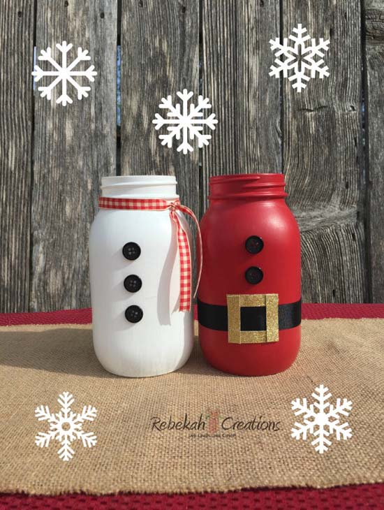 Mason Jar Christmas Decorations 5 All About Christmas