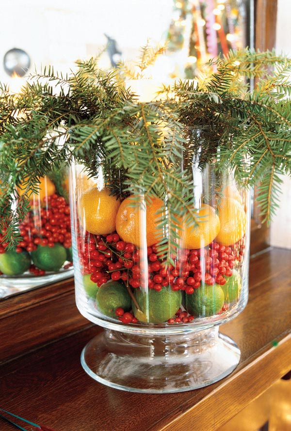 33 stunning natural christmas decorating ideas all about Natural decorating